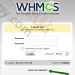 WHMCS管理员密码